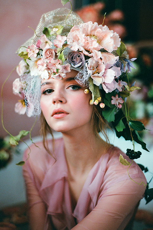 Floral Headpiece, Flower Headpiece
